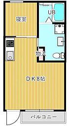 新築 十色ハウス[202号室号室]の間取り