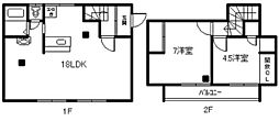 [一戸建] 北海道旭川市末広五条9丁目 の賃貸【/】の間取り