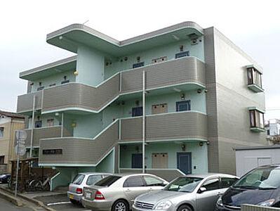 外観,1K,面積24.88m2,賃料3.5万円,JR常磐線 水戸駅 3.2km,,茨城県水戸市新荘