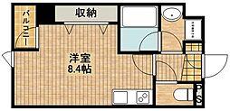 H&C[3階]の間取り