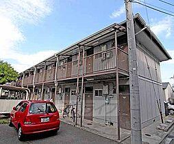 京都府京都市北区鷹峯光悦町の賃貸アパートの外観