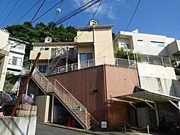 神奈川県鎌倉市岩瀬1丁目の賃貸アパートの外観