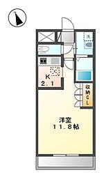 クリンピア[1階]の間取り