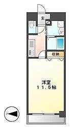 CASSIA錦本町通[10階]の間取り