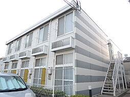 大阪府大阪市平野区加美東2の賃貸アパートの外観