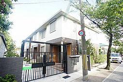 京都府向日市鶏冠井町稲葉の賃貸アパートの外観