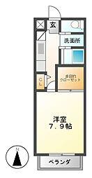 MIYAVI[1階]の間取り