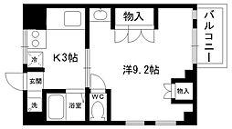パンプランテ甲子園[208号室]の間取り