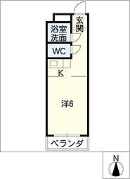 アメニティ鈴木[2階]の間取り