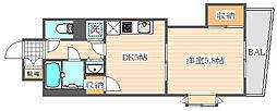 キトミ壱番館[3階]の間取り