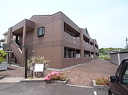 兵庫県たつの市揖西町土師の賃貸マンションの外観