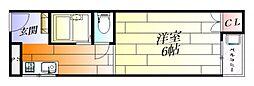 ファーストレジデンス千里丘[3階]の間取り