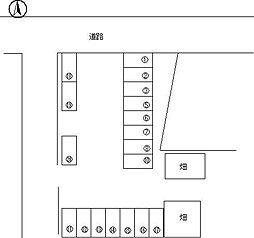 【敷金礼金0円!】喜多川334-6 駐車場