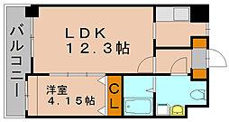 ローズモントフレア博多駅東[3階]の間取り