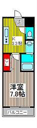 サンモール蕨[3階]の間取り