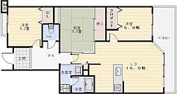 ヴェルデサコート桜ヶ丘[5階]の間取り