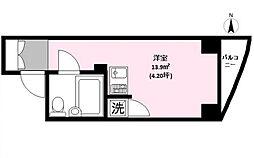インナートリッププラザ神山町[2階]の間取り