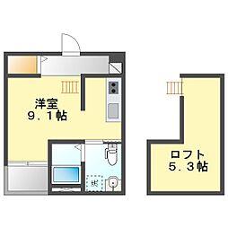 志賀本通駅 4.6万円