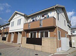 広島県広島市安佐南区川内3丁目の賃貸アパートの外観