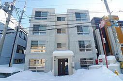 北海道札幌市西区山の手二条3丁目の賃貸マンションの外観