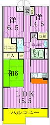 RIS松戸[3階]の間取り