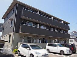 山口県宇部市新町の賃貸アパートの外観