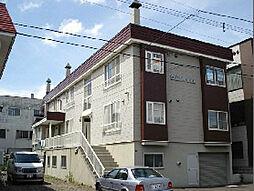 北海道札幌市東区北十一条東14丁目の賃貸アパートの外観