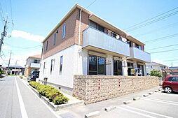 岡山県倉敷市片島町の賃貸アパートの外観