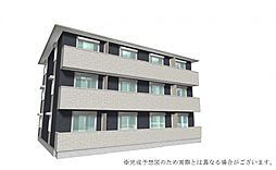 奈良県奈良市山陵町の賃貸アパートの外観