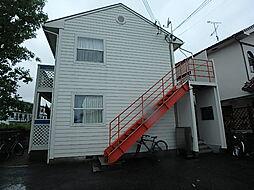 兵庫県加古川市加古川町美乃利の賃貸アパートの外観