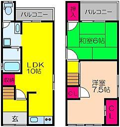 北野田駅 5.2万円