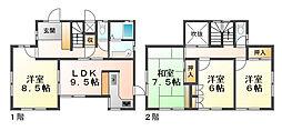[一戸建] 兵庫県神戸市西区学園西町2丁目 の賃貸【/】の間取り