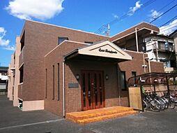 東京都調布市若葉町1の賃貸マンションの外観
