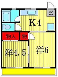 イマイマンション[3階]の間取り