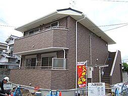 京都府城陽市平川長筬の賃貸アパートの外観
