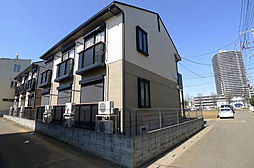 埼玉県富士見市ふじみ野西1丁目の賃貸アパートの外観