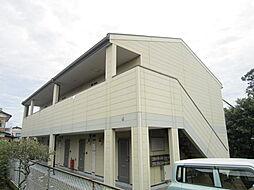茨城県ひたちなか市大平3丁目の賃貸アパートの外観