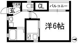 栄町日進ビル[1階]の間取り