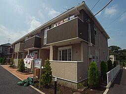 千葉県我孫子市都部の賃貸アパートの外観