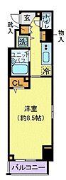 プロシード新横浜[3階]の間取り