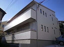 神奈川県横浜市港南区日野3丁目の賃貸アパートの外観