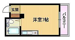 大阪府大阪市都島区都島南通1丁目の賃貸マンションの間取り