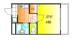 BLUE PLANET[1階]の間取り