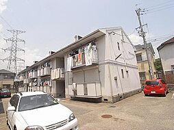 兵庫県宝塚市安倉北1丁目の賃貸アパートの外観