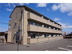 新潟県上越市下源入の賃貸アパートの外観