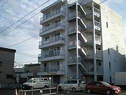 北海道札幌市豊平区中の島二条10丁目の賃貸マンションの外観