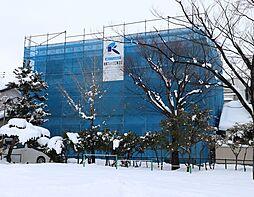新潟県新潟市中央区天神2丁目の賃貸アパートの外観