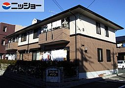 ファミールメゾンB棟[1階]の外観