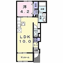 古賀茶屋駅 4.1万円
