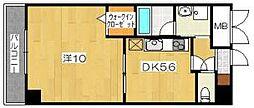 パレ・ド・エトワール[3階]の間取り